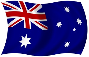 Australian-flag-waving